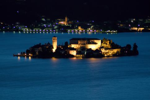Isola San Giulio on Lake Orta