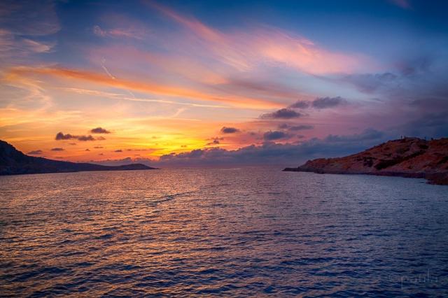 l'ile rousse_sunset