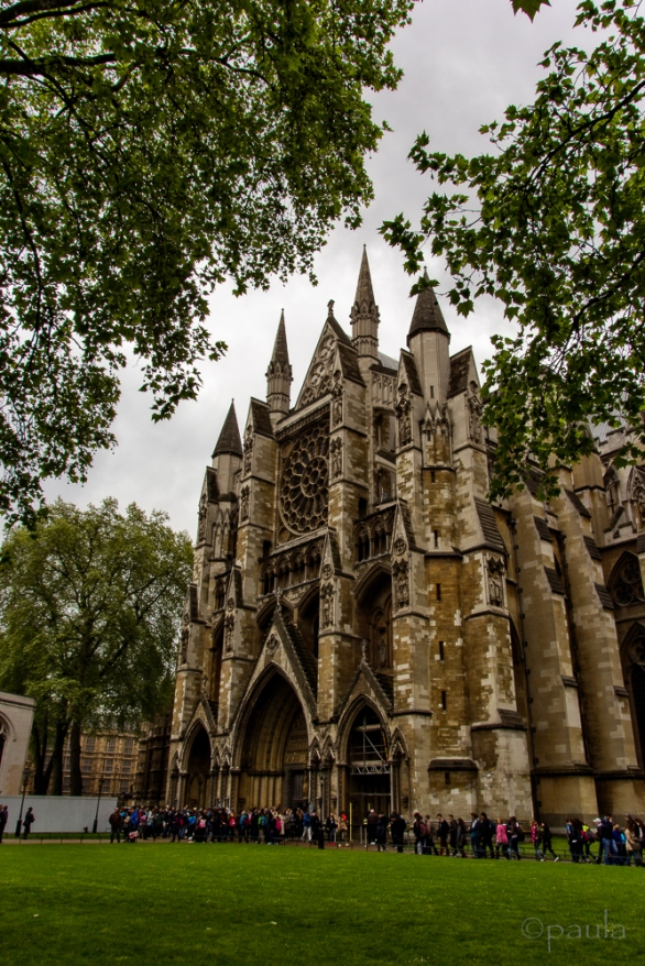 North entrance to Westminster Abbey