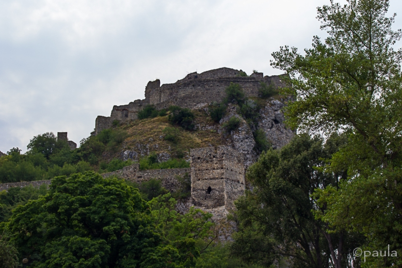 The first glance of the castle