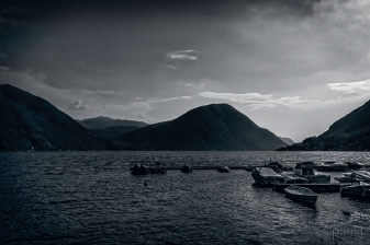 lugano from porlezza
