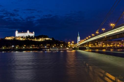 June - Bratislava by night