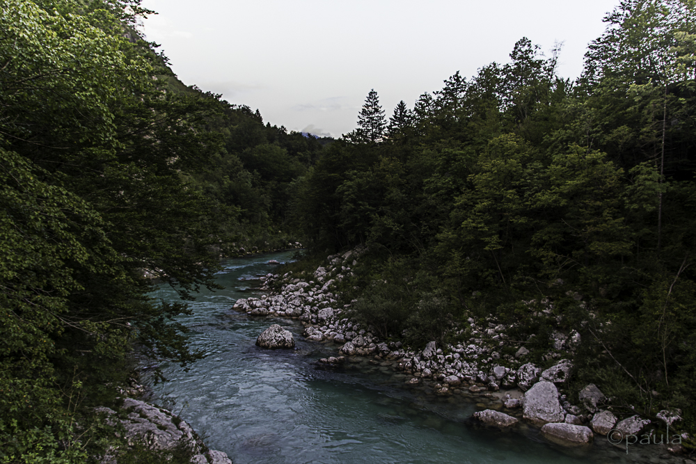 Nobody is indifferent to turquoise waters of Soča