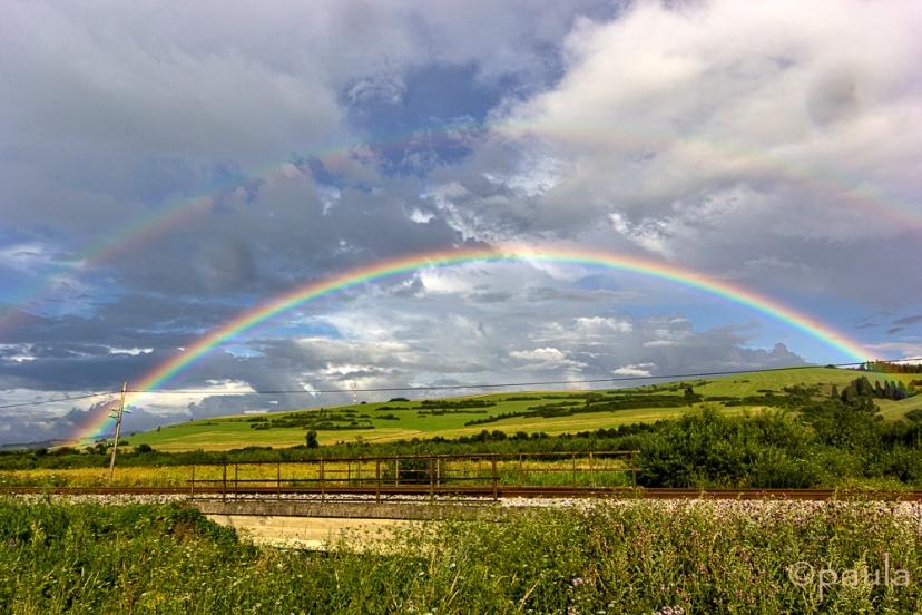 October - We caught the rainbow