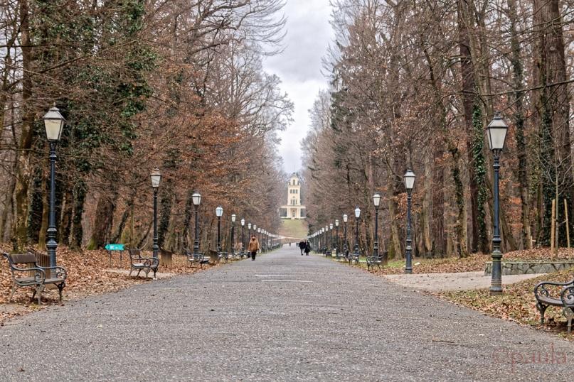 Entrance to Maksimir Park