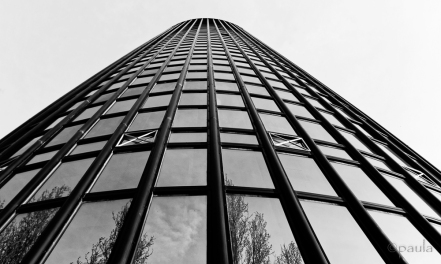 Cibona Tower closer