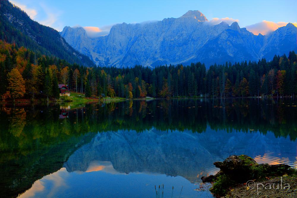 fusine jezero hdr